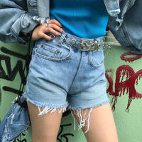 USED  DENIM  SHORTS  -1-