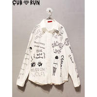 専用ページ【CUBRUN】GRAFFITI BIG SHIRT