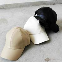 FAKE  LEATHER  CAP