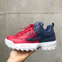 【FILA】DISRUPTOR Ⅱ- NAVY/RED