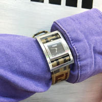 【Vintage FENDI】ZUCCA BELT WATCH