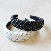 TWEED VOLUME HEAD  BAND