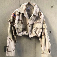 REMAKE Camo Fril Short Shirts【C】