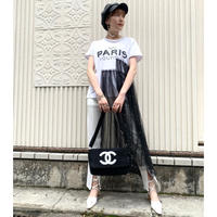 REMAKE PEARL TULLE TEE