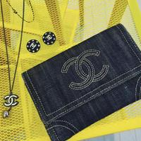 【Vintage CHANEL】 Denim Wallet