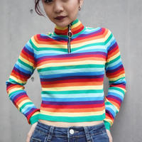 RAINBOW ZIP KNIT CUTSAW