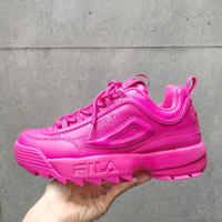 【FILA】DISRUPTOR Ⅱ- SHOCKING PINK