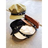 BELT COTTON MARINE CAP