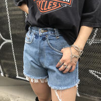 USED  DENIM  SHORTS  -2-