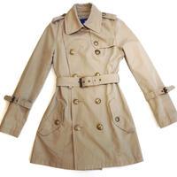 【Vintage BURBERRY】LADIES TRENCH COAT
