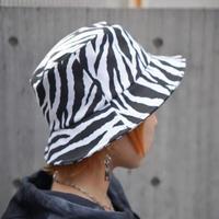 SPRING  ZEBRA  BUCKET HAT