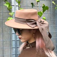 BIG RIBBON FELT HAT