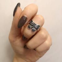 ANTIQUE  BUTTERFLY  RING