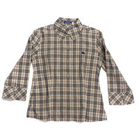 【Vintage BURBERRY】CHECK SHIRT  40