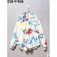 【CUBRUN】COLOR GRAFFITI SHIRTS