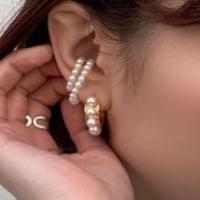 PEARL PIERCE + EAR CUFF SET