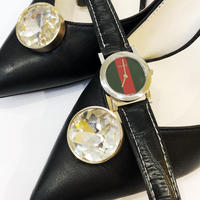 【Vintage GUCCI 】5200 L.1 SHELLY  WATCH