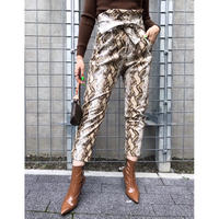 PYTHON TAPERED PANT
