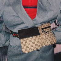 【Vintage GUCCI】GG SHELLY BODY BAG