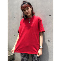 USED  NIKE Onepoint Tee Shirt【red】