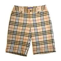 【BURBERRY】CHECK SHORT PANTS
