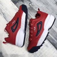 【FILA】DISRUPTOR Ⅱ- RED/NAVY