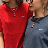 USED  NIKE Onepoint Tee Shirt【red】⑤