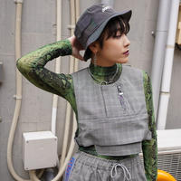【DAILY PAPER 】Checked Gone Vest