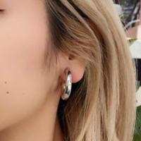 BOLD MINI HOOP EARRING