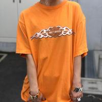USED  HARLEY-DAVIDSON  TEE - orange -