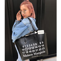 【Maison Margiela】CALENDAR 11 LEATHER TOTE BAG