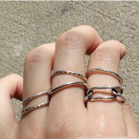 CHAIN MOTIF 6 SET RING