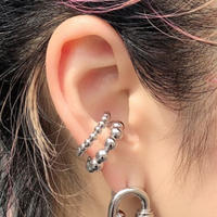 DOUBLE BALL EAR CUFF