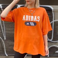 USED  ADIDAS TEE SHIRT【ORANGE】⑨
