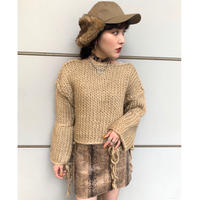 ROPE TAPE SHORT KNIT