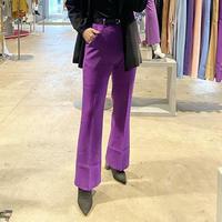 CENTER  PRESS  FLARE  PANTS