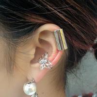 LONG ROLL EAR CUFF
