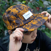 【R-18】PATTERN JETCAP / Orange  Black