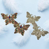 RHINESTONE  BUTTERFLY  PIERCE