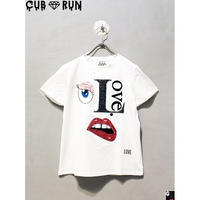 【CUBRUN】FACE COLLAGE TEE