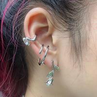 LIMITED ROSE PIERCE + 2 EAR CUFF SET