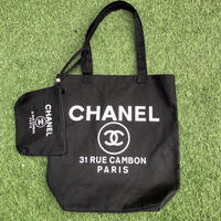 CHANEL NOVERTY TOTE BAG (white)