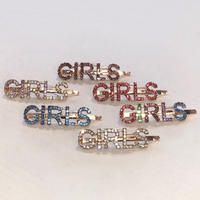 RHINESTONE GIRLS  PIN