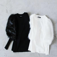 MALL  PUFF  SLEEVE  KNIT  SAW