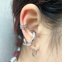 1 PIERCE + 2 EAR CUFF SET