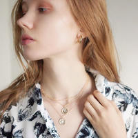 【3日間限定】COIN 3NECKLACE + MINI HOOP PIERCE SET
