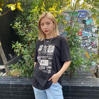 USED  ADIDAS TEE SHIRT【BLACK】13