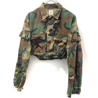 REMAKE Camo Fril Short Shirts【2】