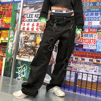 【 CUB RUN 】RING BONDAGE PANTS