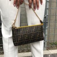 【Vintage FENDI】ZUCCA MINI CHAIN BAG